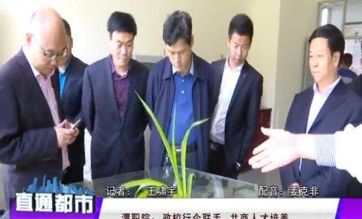 澄城县中国电子商务协会到渭南职院洽谈合作办学 (播放)